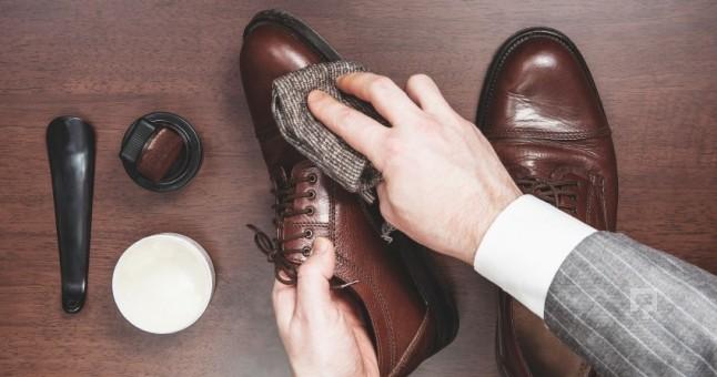 革靴のお手入れ方法