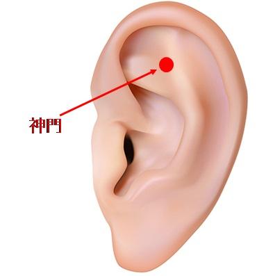 耳ツボ自律神経