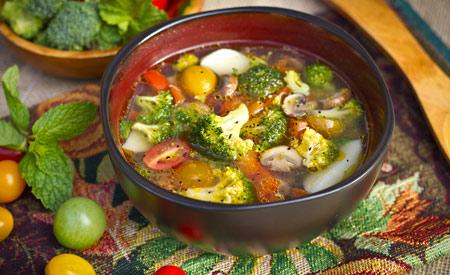 緑黄色野菜スープ