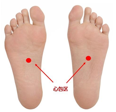 足裏のツボ自律神経