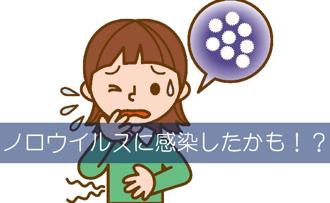 ノロウイルス,感染